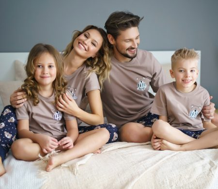 Pyžamá pre celú rodinu